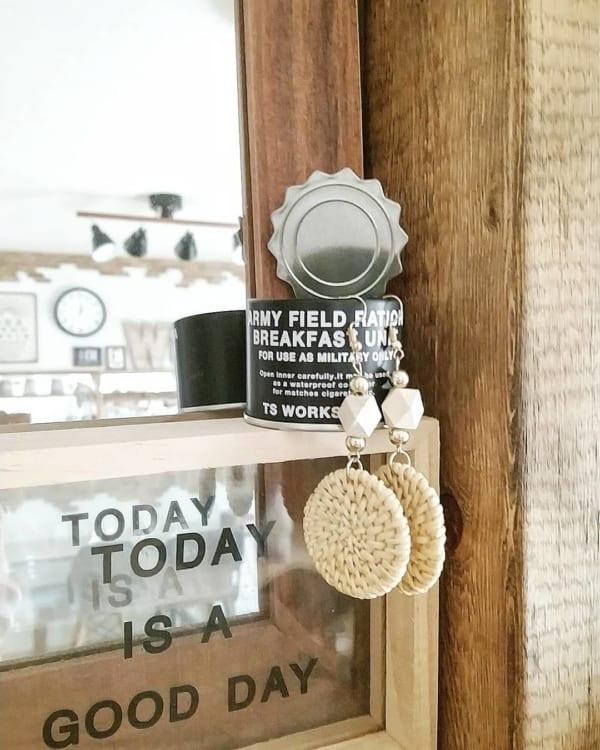 オープン缶詰風ポット(セリア)