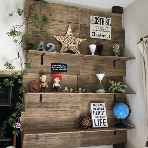 お部屋のDIYアイデア②壁に関するDIY5