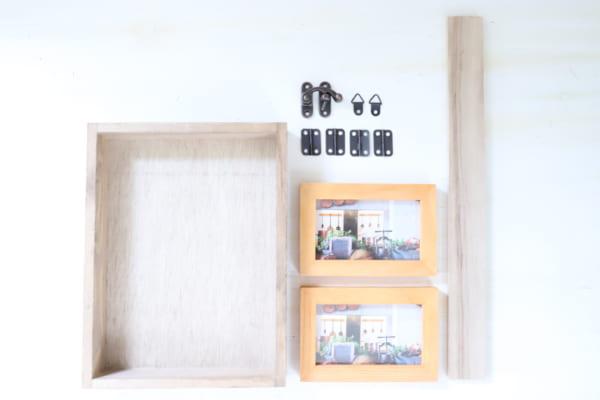 壁掛けでもテーブルでも使える2WAYボックス