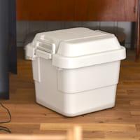 【連載】屋外でも使える!「無印」の頑丈収納ボックスでざっくり収納術