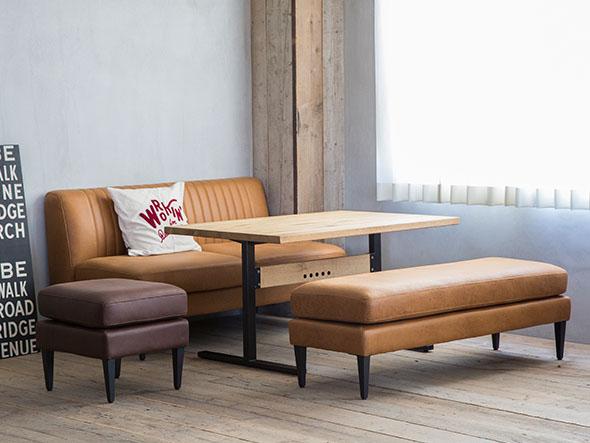 ソファとベンチの組み合わせ