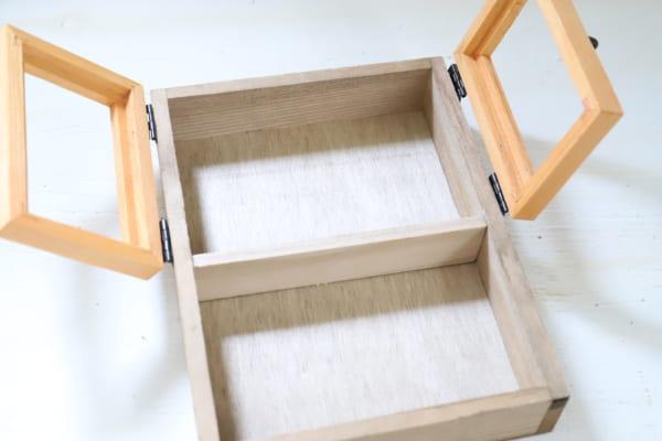 壁掛けでもテーブルでも使える2WAYボックス9