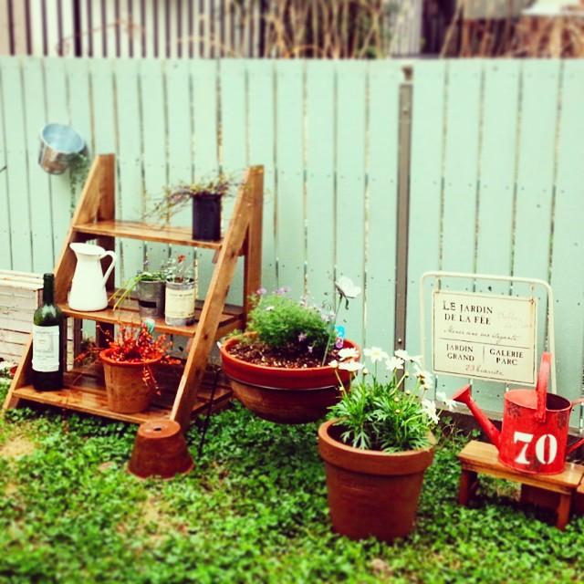 ガーデン・エクステリアの棚3