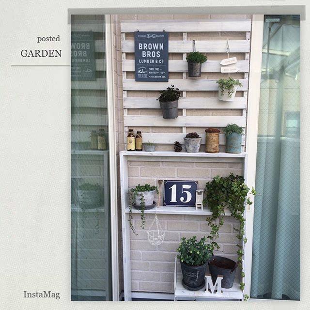ガーデン・エクステリアの棚