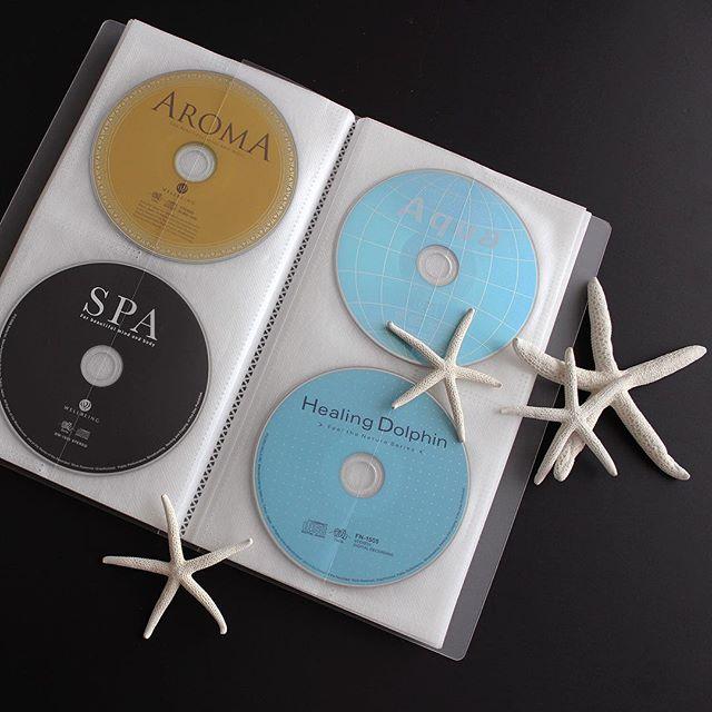 CDはケースから出してファイルに入れて