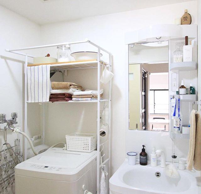 洗面所収納アイデア72