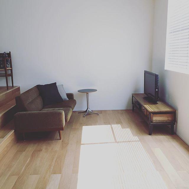 スタイリッシュなソファですっきりとしたお部屋に2