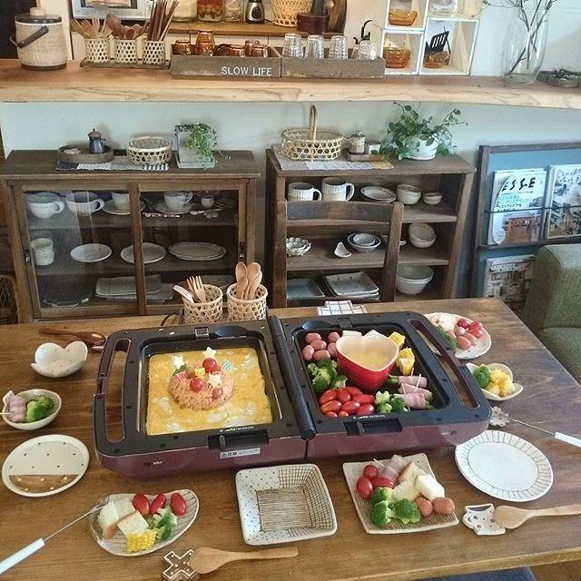 おしゃれで華やかな食卓風景8