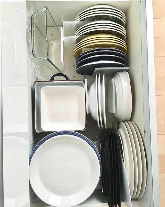 お皿の収納にも!