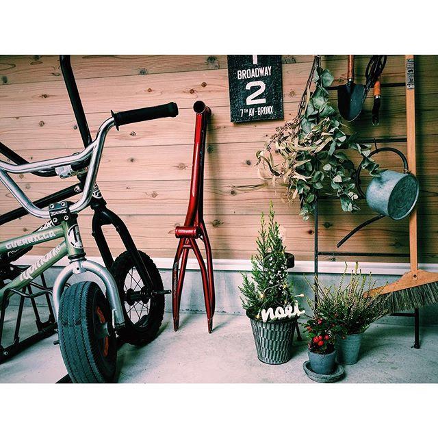 子供用自転車は小物の収納と一緒に4