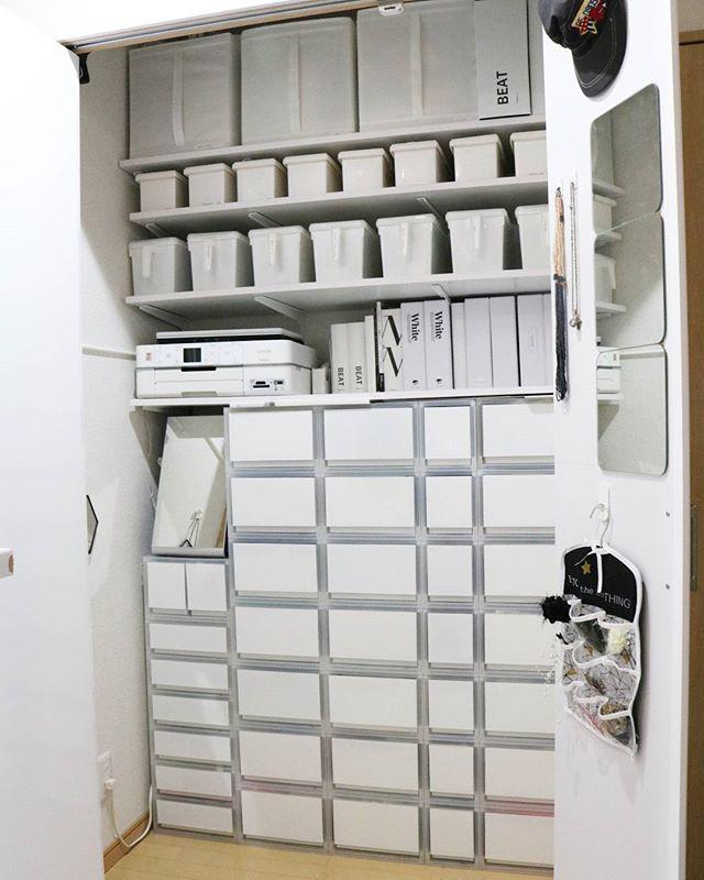 クローゼットの扉裏に注目!収納に活かせるスペースがあるんです3