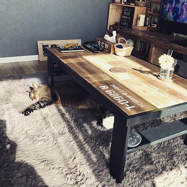 ローテーブルならもっと簡単に作れる!6