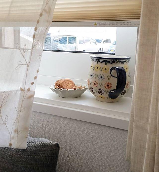 出窓に生活雑貨をレイアウト7