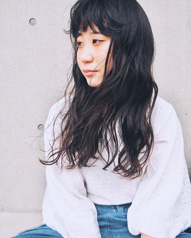 黒髪ロングヘア59
