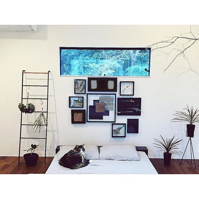 海外の隠れ家風ベッドルーム2