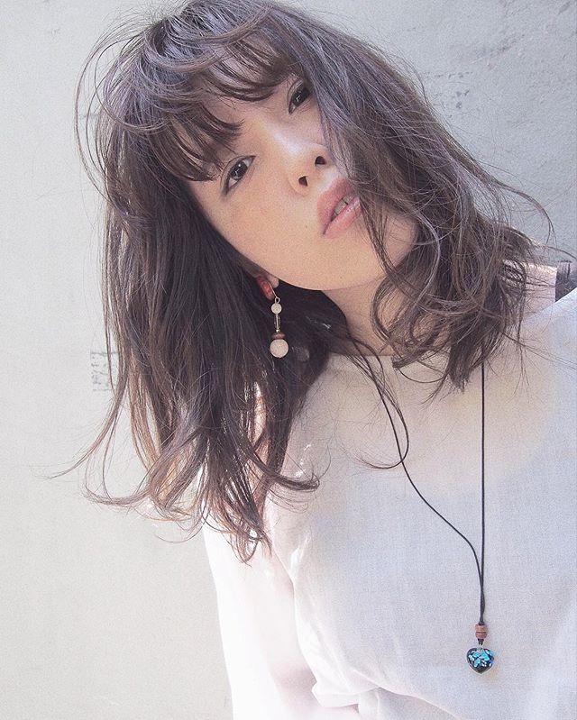 くせ毛風ロブ6