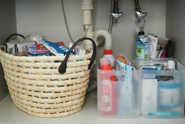 洗面台の収納7