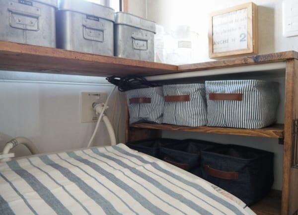 洗濯機周りの収納4