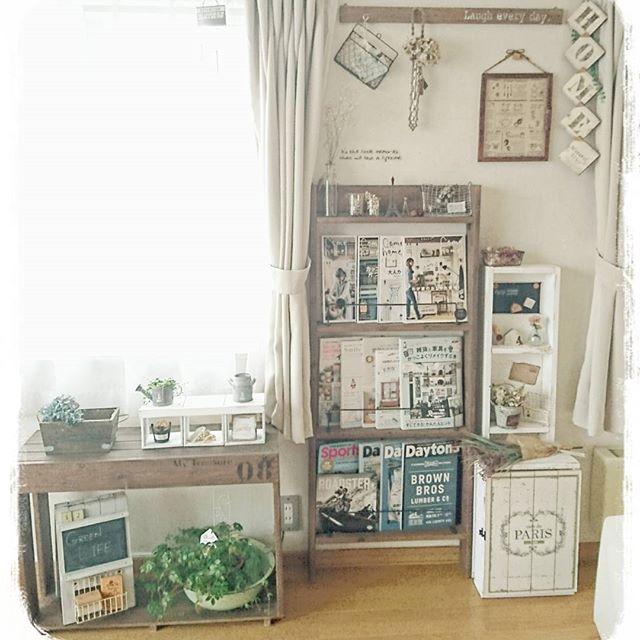 自分で作ればピッタリ☆収納したい物別にDIYで棚を作るアイデア6