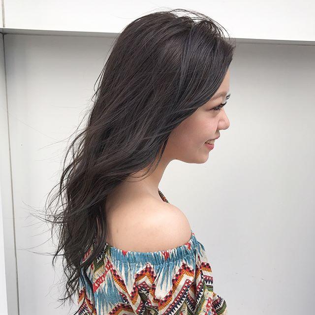 黒髪ロングヘア85