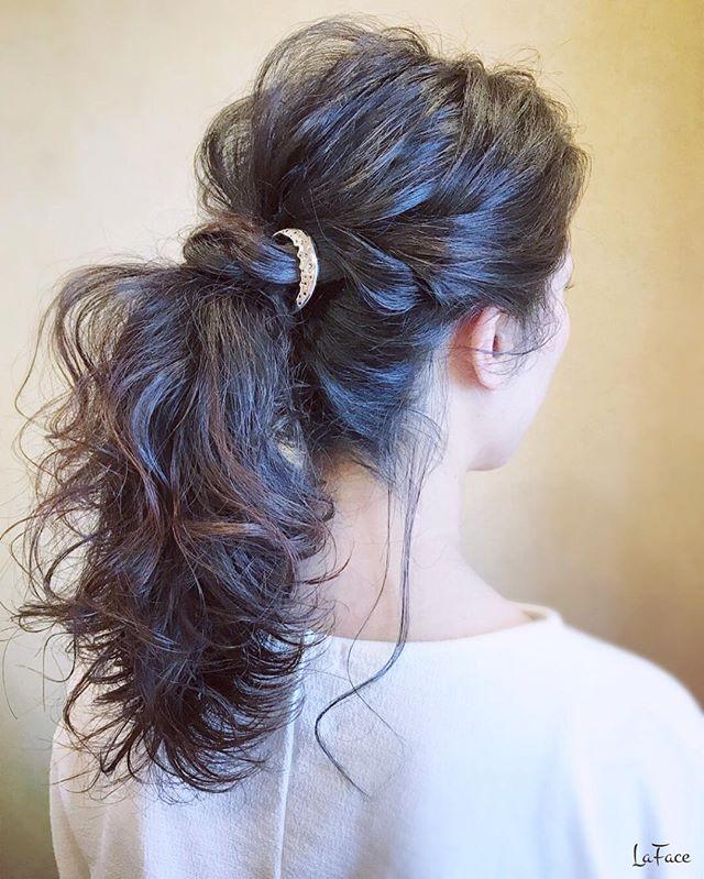 黒髪ロングヘア87