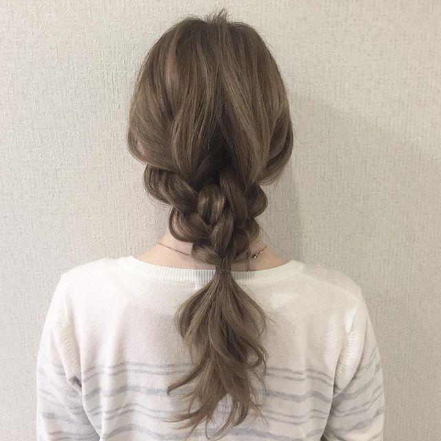 まとめ髪アレンジ2