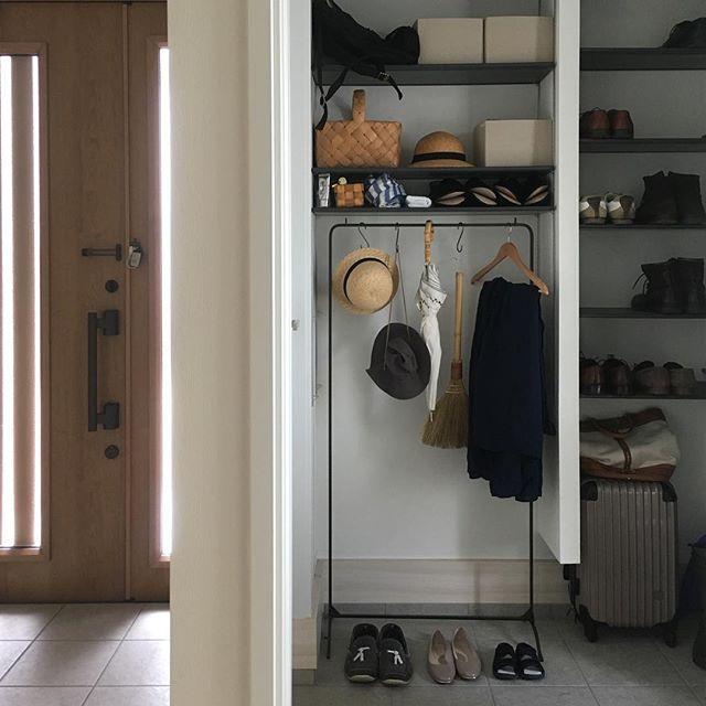 使い勝手のいいブーツ収納5