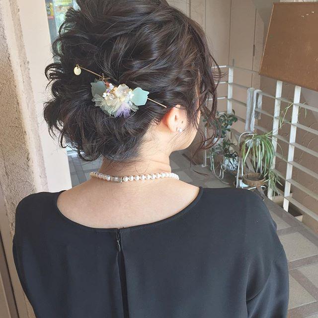 黒髪ロングヘア89