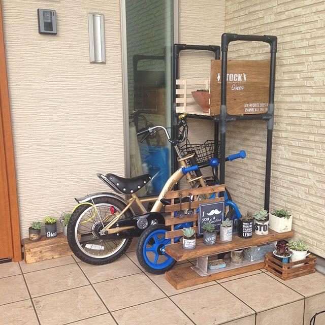 子供用自転車は小物の収納と一緒に5