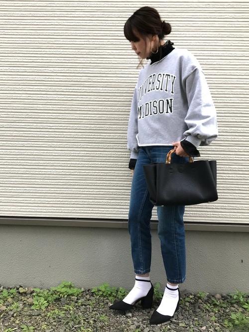 靴下×ヒール2