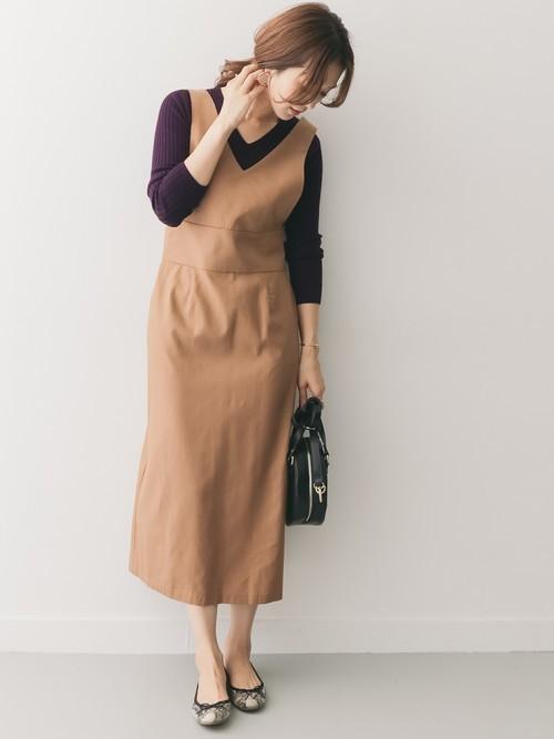 [URBAN RESEARCH DOORS] セミタイトジャンパースカート