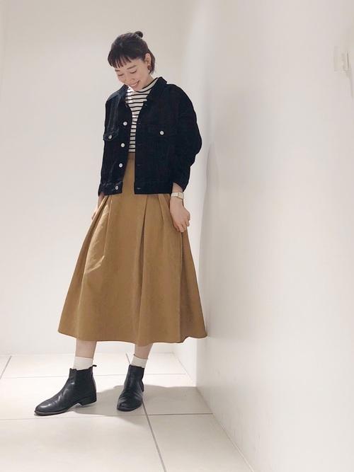 靴下×ブーツ