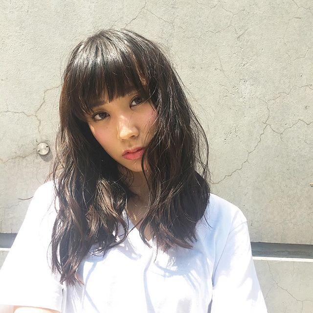 黒髪ヘア57