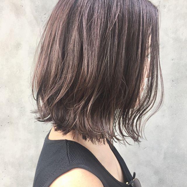 ミディアムボブの髪型例5