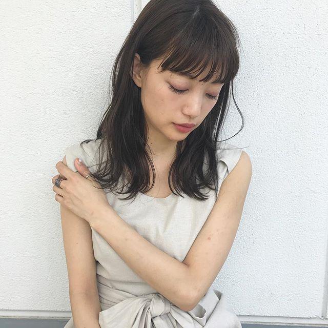 オシャレ黒髪