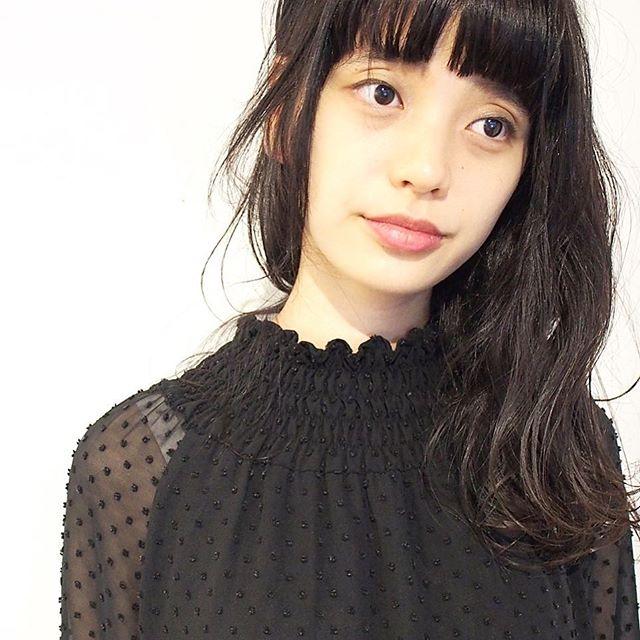 黒髪ロングヘア58