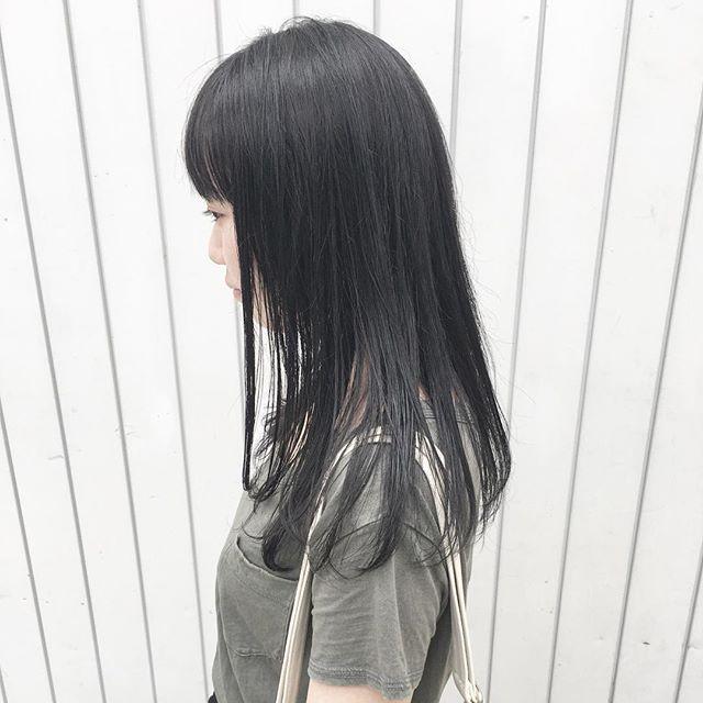 黒髪ロング2
