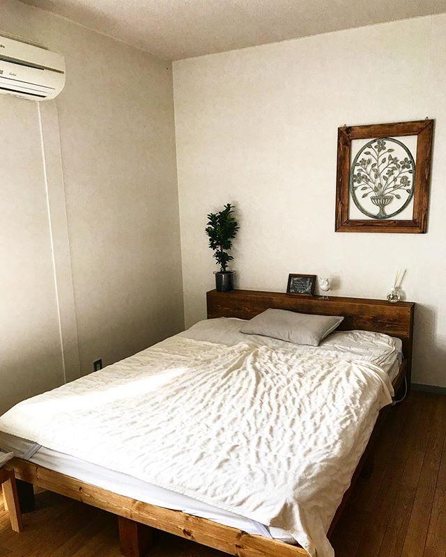 海外ナチュラルテイストなベッドルーム2