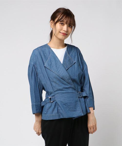 デニムシャツジャケット1