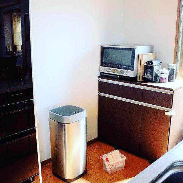 コストコのモーションセンサー付きのゴミ箱