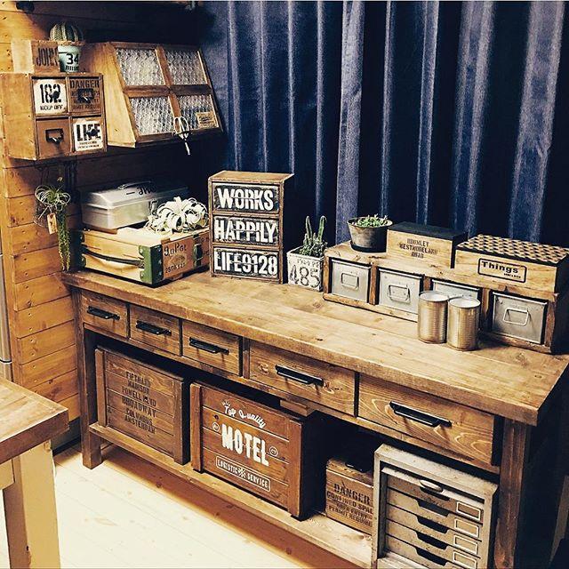 サイズ色々な木箱