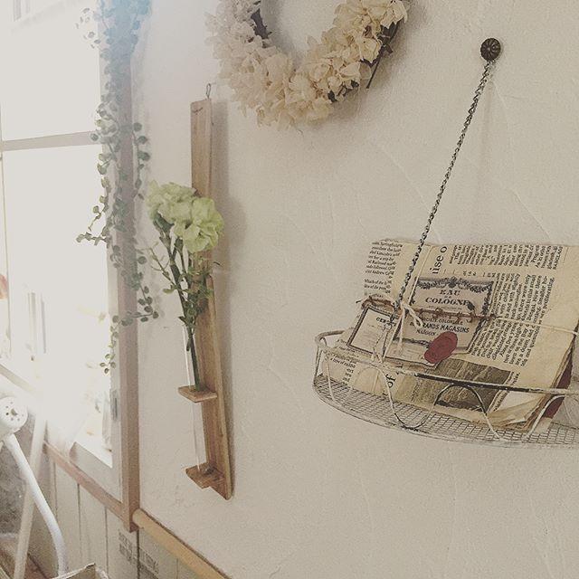 漆喰で壁をDIY2