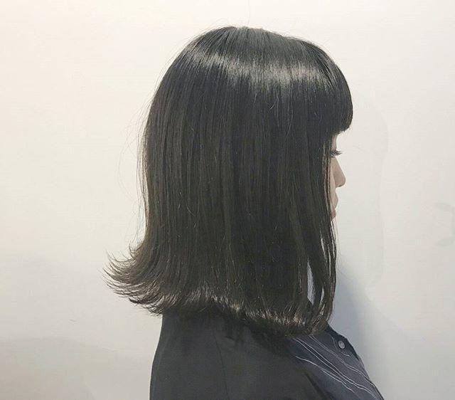 黒髪風カラー5