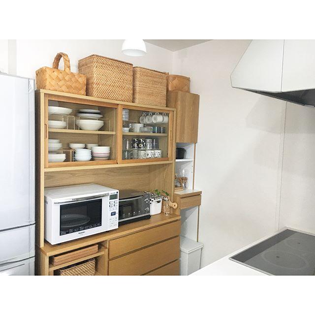 キッチンの隙間も有効活用でスッキリ便利に♪4