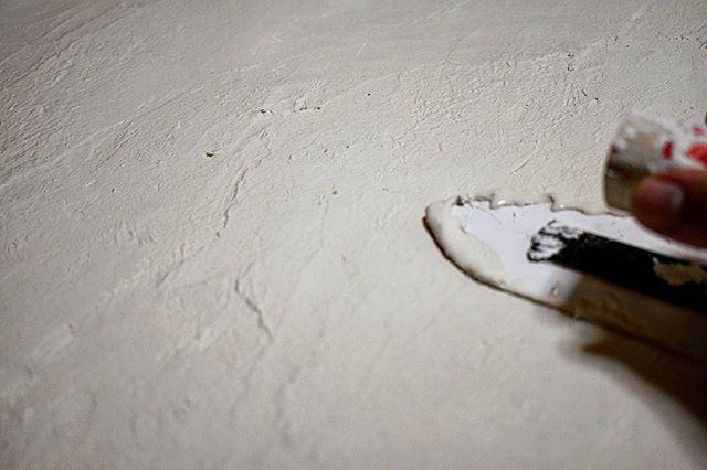 漆喰で壁をDIY17