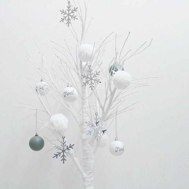 真っ白で冬の世界観に