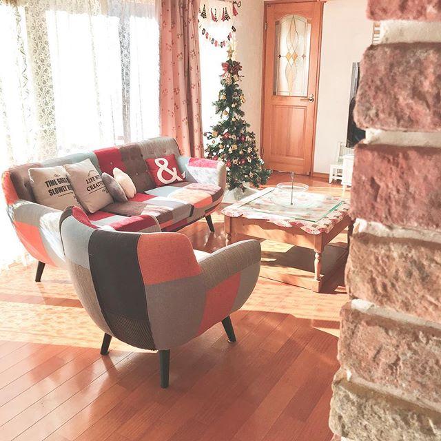 デザイン性のあるソファはお部屋のポイントに