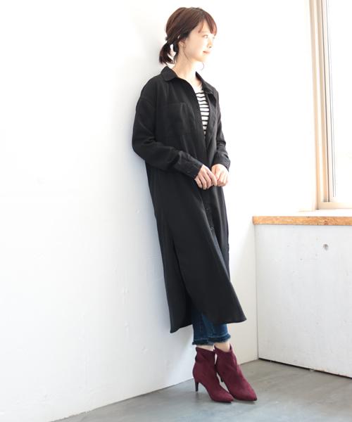 [SESTO] ふわふわカップインソール付き!美脚ポインテッドトゥの7cmヒールショートブーツソックスブーツ