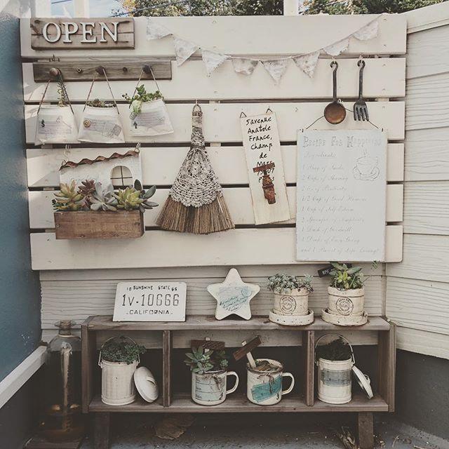 ガーデン・エクステリアの棚2