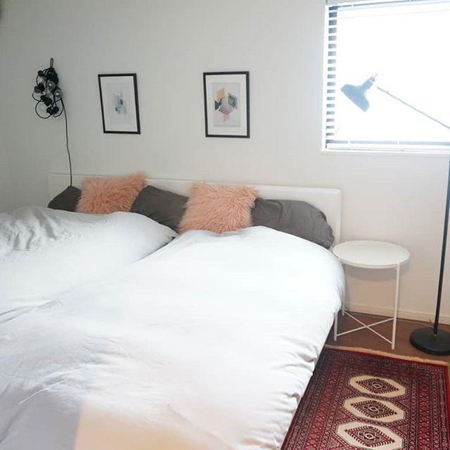 海外風ベッドルーム作りに真似したいアイディア!5